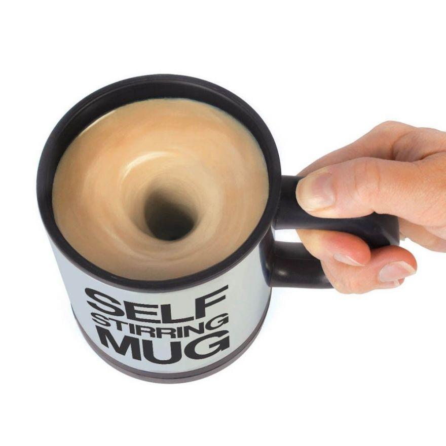 Кружка - миксер Self Stirring Mug (Цвет: Черный)