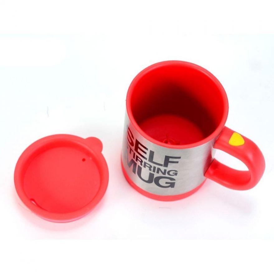 Кружка - миксер Self Stirring Mug (Цвет: Красный)