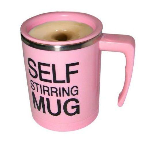 Кружка - миксер Self Stirring Mug (Цвет: Розовый)
