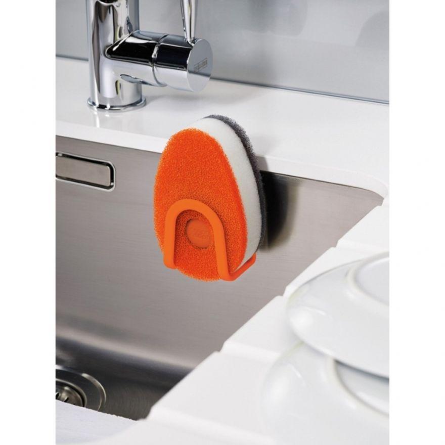 Набор губок для мытья посуды с дозатором моющего средства, 3 шт.