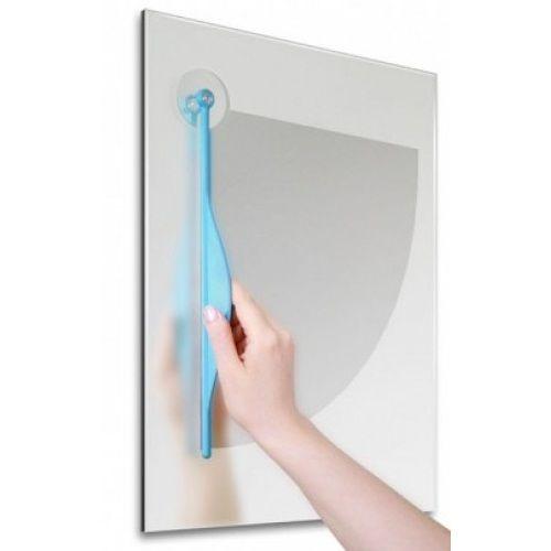 Дворник для зеркала в ванной