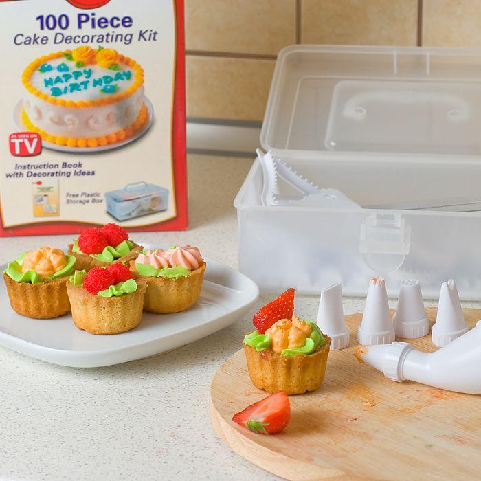 Набор для декорации торта 100 Piece Cake Decoration Kit