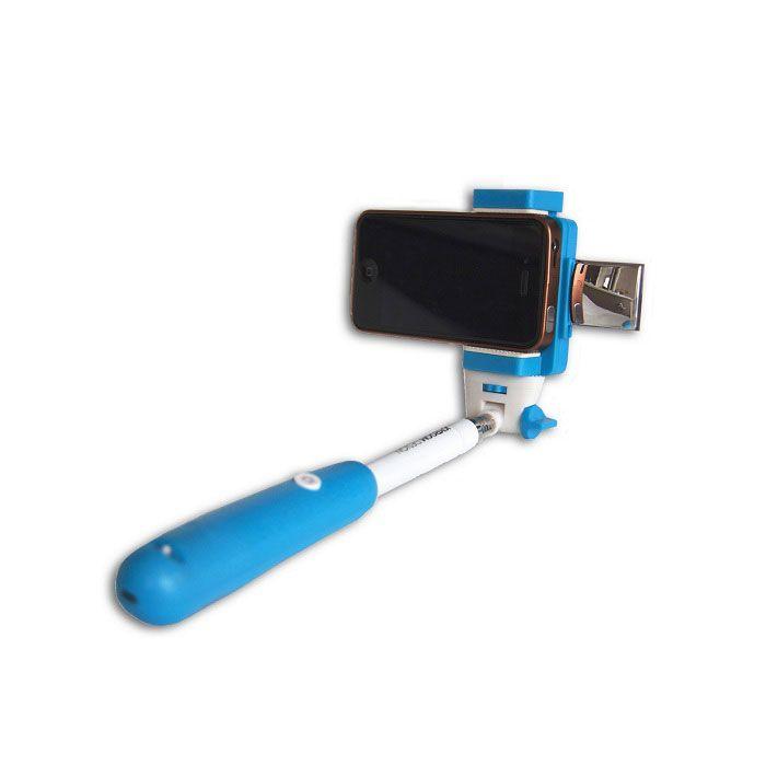 Монопод с треногой и зеркалом JoyRoom (Цвет: Синий)