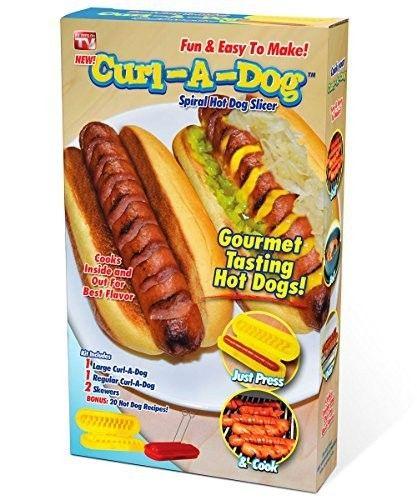 Устройство для нарезки сосисок спиралью Curl-A-Dog