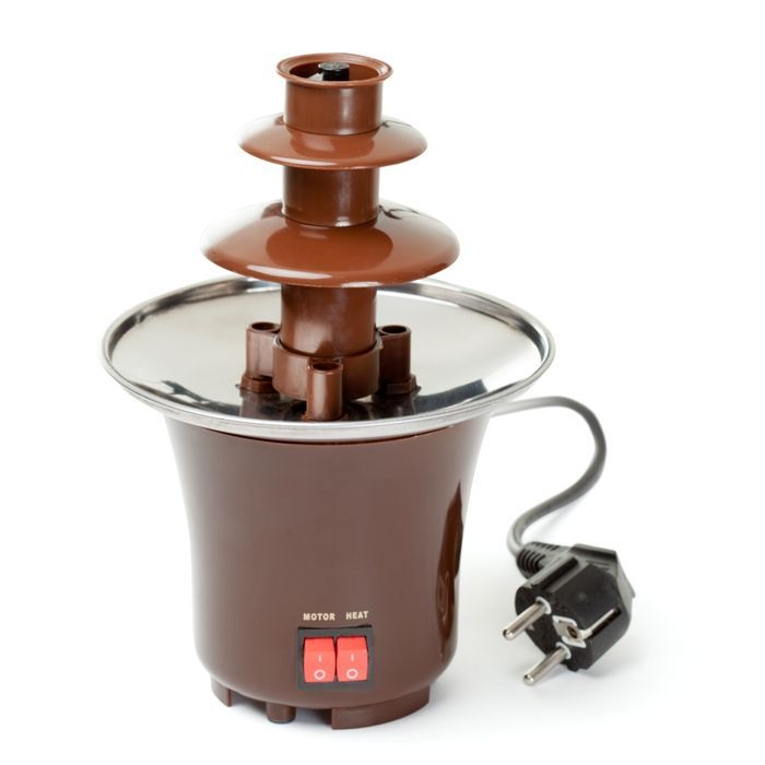 Шоколадный Фонтан Мини Chocolate Fondue Fountain Mini Keya