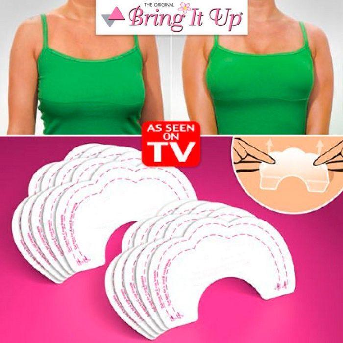 Наклейки для подтяжки груди Bare Lifts