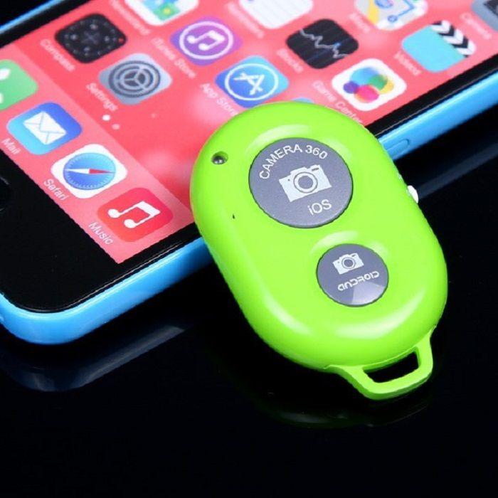 Кнопка-Bluetooth для селфи (Цвет: Салатовый)