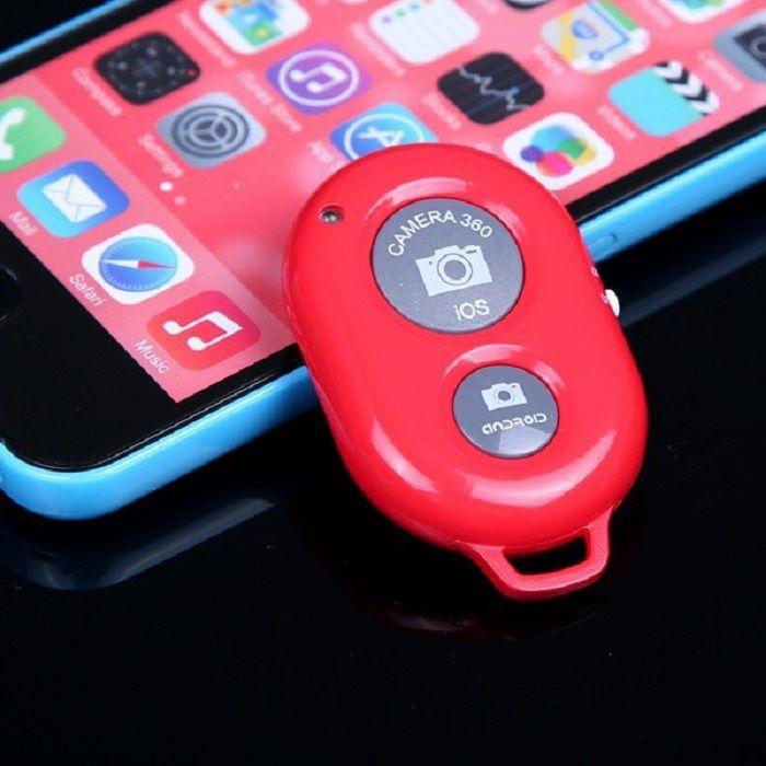 Кнопка-Bluetooth для селфи (Цвет: Красный)
