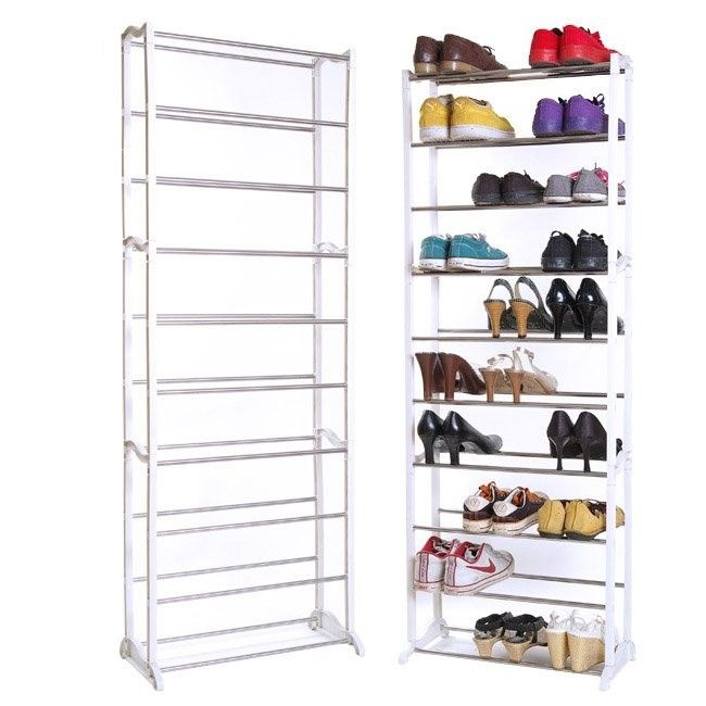 Стойка для обуви Amazing Shoe Rack (Цвет: Белый)
