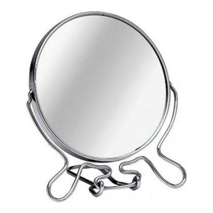 Зеркало настольное двухстороннее с увеличением (Диаметр: 18,5 см)
