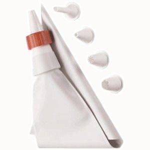 Кондитерский мешок с 5 насадками Baking Tool
