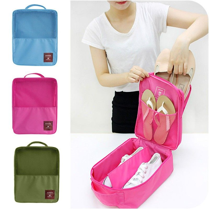 Органайзер для обуви Travel Series-Shoes Pounch (Цвет: Розовый)