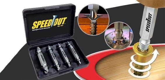 Сверло для бытовой дрели или перфоратора Speed Out