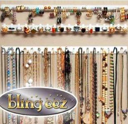 Органайзер для украшений Bling Eez (комплект из 9 вешалок)