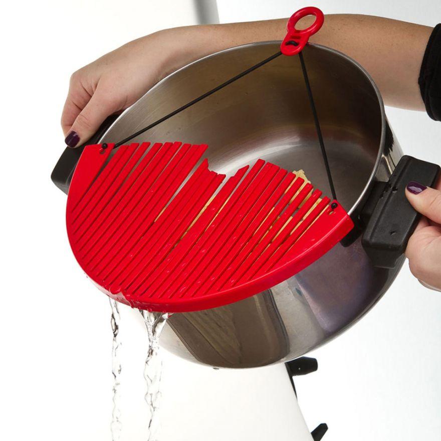 Дуршлаг - накладка для слива воды Better Strainer кухонный фильтр