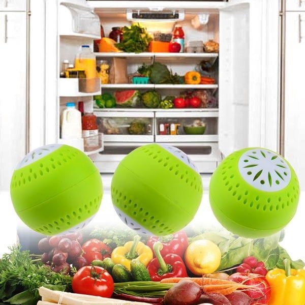Поглотитель запаха для холодильника Fridge Balls (3 шт.)