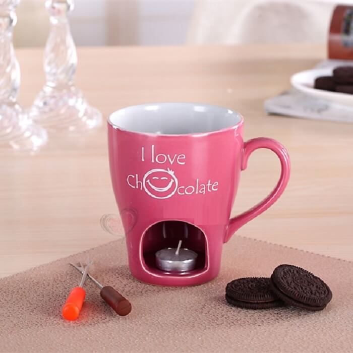 Кружка для фондю I Love Chocolate