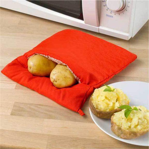 Мешок для запекания картошки в микроволновке Potato Express
