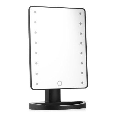 Зеркало Large LED Mirror (Цвет: Черный)
