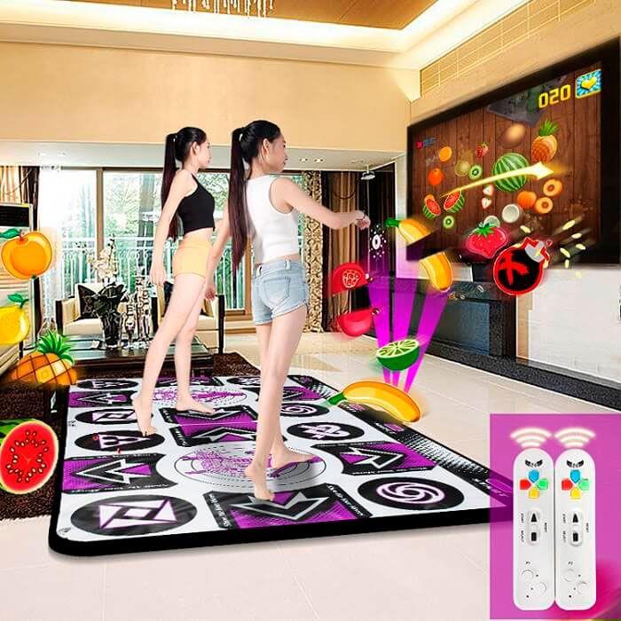 Беспроводной танцевальный коврик для двоих X2 Super Danse