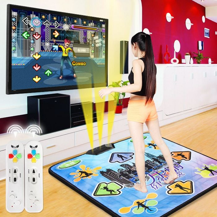 Беспроводной танцевально-игровой ТВ коврик Aspel Super Dance  (32 бита)