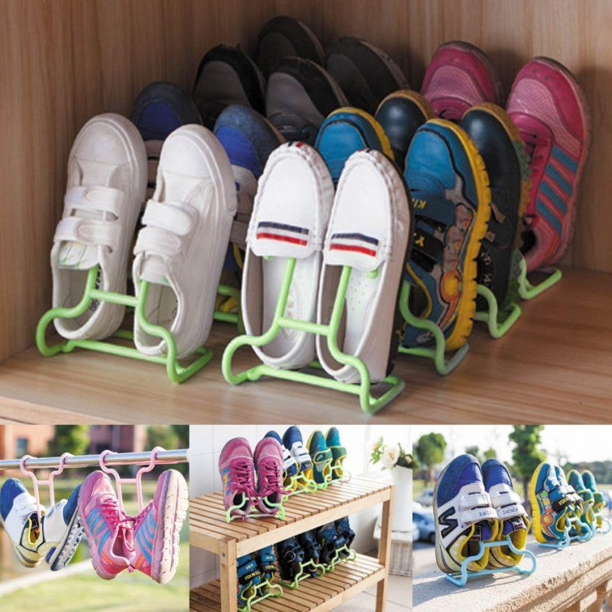 Универсальная подставка-сушилка для обуви, 2 шт.