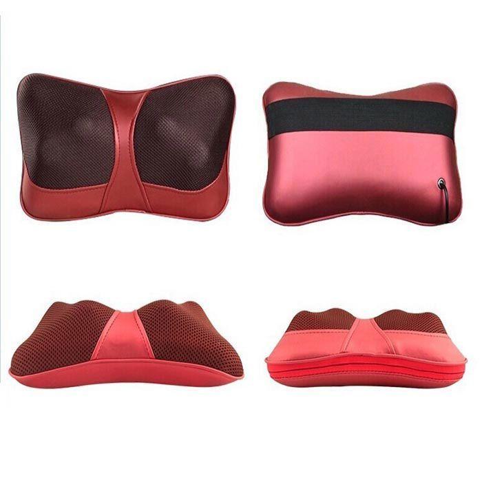 Массажная подушка с инфракрасным прогревом Massager Pillow
