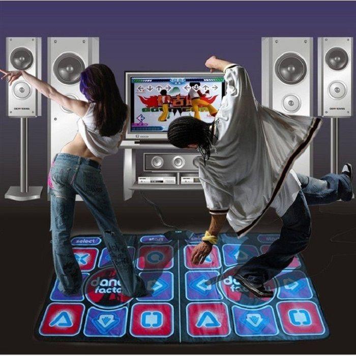 Коврик танцевальный для двоих Dance Perfomance II