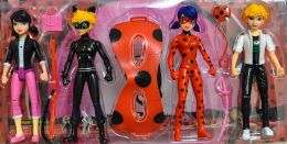 Набор из 4-х кукол –  Леди Баг и супер кот) (TopToys, 19 см)