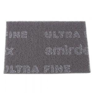 Smirdex Нетканый абразивный материал в листах UF 600 /SUF 600 (серый), 150мм. x 230мм., (упаковка 10 шт.)