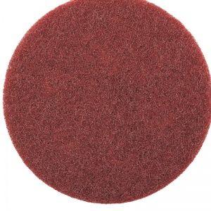 Smirdex Нетканый абразивный матирующий круг AVF 320 (красный) диа. 150мм SMIRDEX, (упаковка 10 шт.)