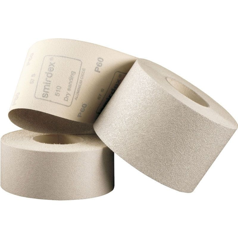 Smirdex P240 Абразивная бумага в рулоне на липучке SMIRDEX 510, 116 мм x 25 м, (упаковка 1 шт.)