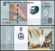 Ангола - 5 Кванза UNC