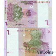 Конго - 1 Сантим 1997 UNC