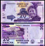 Малави - 20 Квача 2012-2016 UNC