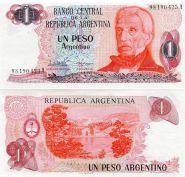Аргентина - 1 Песо 1983 UNC