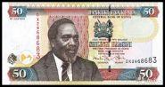 Кения - 50 Шиллингов 2010 UNC
