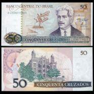 Бразилия - 50 Крузадос 1986 UNC