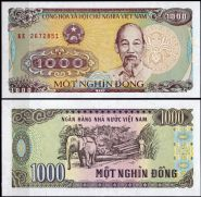 Вьетнам - 1000 Донг 1988 UNC