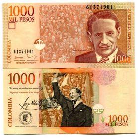 Колумбия 1000 Песо 2015 UNC