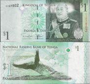 Тонга - 1 Паанга 2014 UNC
