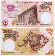 Папуа Новая Гвинея - 20 Кина 2008 UNC