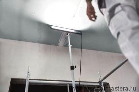 Лампа бокового света FESTOOL STL 450-Set с адаптером и штативом 202911