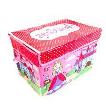 Короб для хранения игрушек, 37х25х25 см, Розовый
