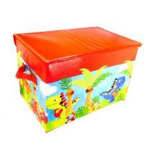 Короб для хранения игрушек, 37х25х25 см, Красный