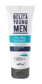 БЕЛИТА YOUNG MEN ГЕЛЬ-УХОД ПОСЛЕ БРИТЬЯ для ежедневного ухода за кожей лица, 75 мл.