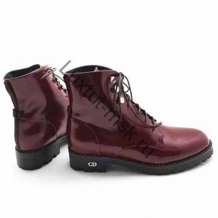 Ботинки Dior (весна-осень) лаковые