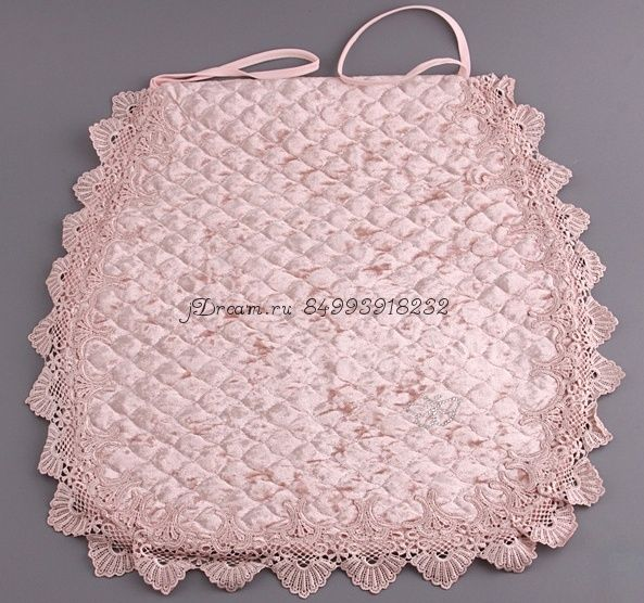 Сидушка подушка на стул Blumarine розовая