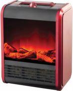 "Электрический камин компактный ""SLOGGER"" Fireplace Red SL-2008I-E3"