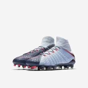 Детские бутсы NIKE HYPERVENOM PHANTOM 3 DF FG 882087-400 JR